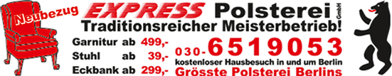 Expresspolsterei Berlin - Ihre Polsterei in Köpenick